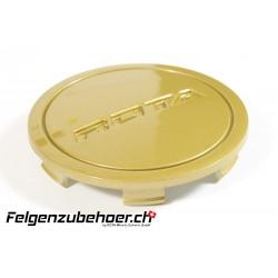 Nabendeckel Flat tommy gold