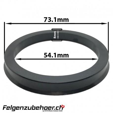 Zentrierring aus Kunstoff 73.1mm