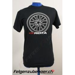 Rota T-Shirt schwarz