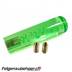 Schaltknauf 150mm Straight Taper Bubble grün