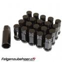 Radmuttern GT50 geschlossen schwarz Stahl Kegelbund