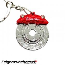 """Schlüsselanhänger """"Brembo"""" Bremsscheibe"""