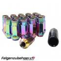Radmuttern GT50 petrol  Stahl Kegelbund