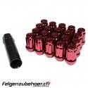 Radmuttern SD20 rot Stahl Kegelbund