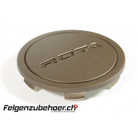 Nabendeckel Flat bronze matt