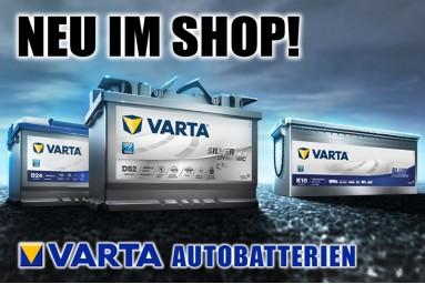 Varta Autobatterien